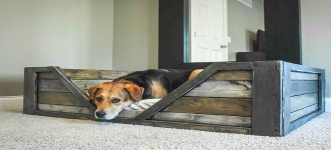 diy pallet dog bed tutorial
