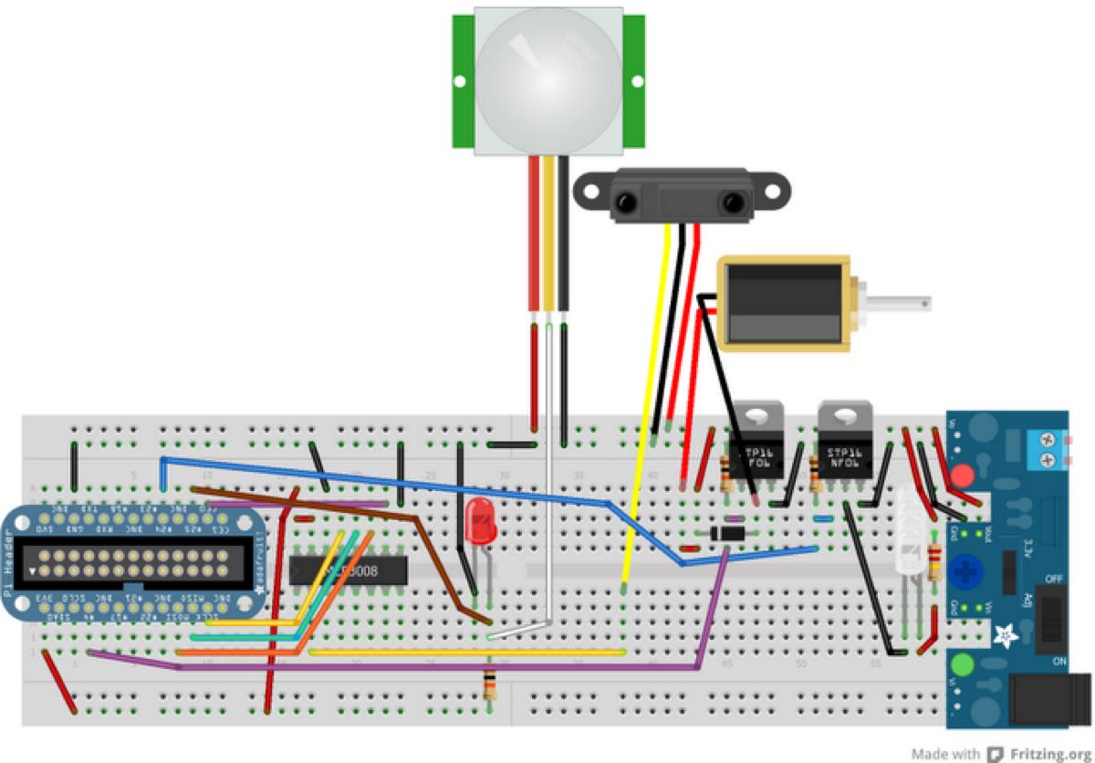 mcp3008 raspberry pi tutorial
