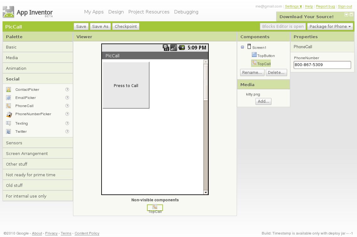 mit app inventor clock tutorial