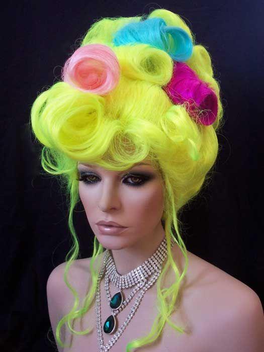 drag queen wig tutorial