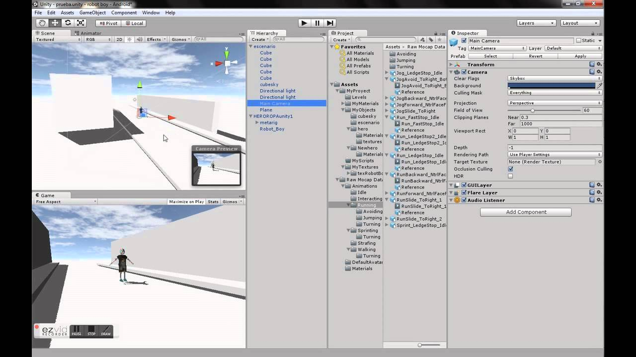 unity 5 mecanim tutorial