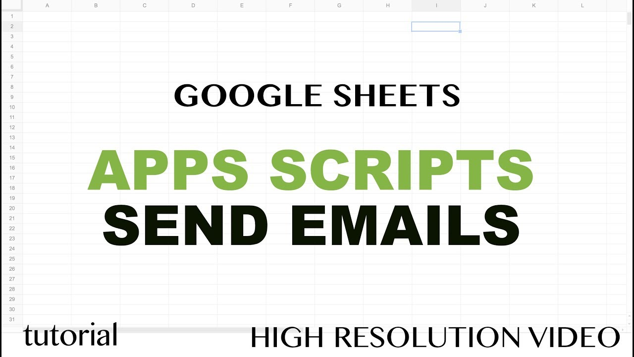 google sheets javascript tutorial