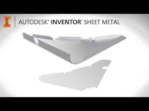 inventor sheet metal tutorial pdf