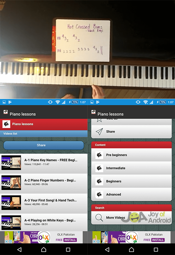 best piano tutorial app