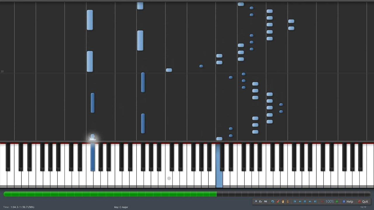 mario theme song piano tutorial