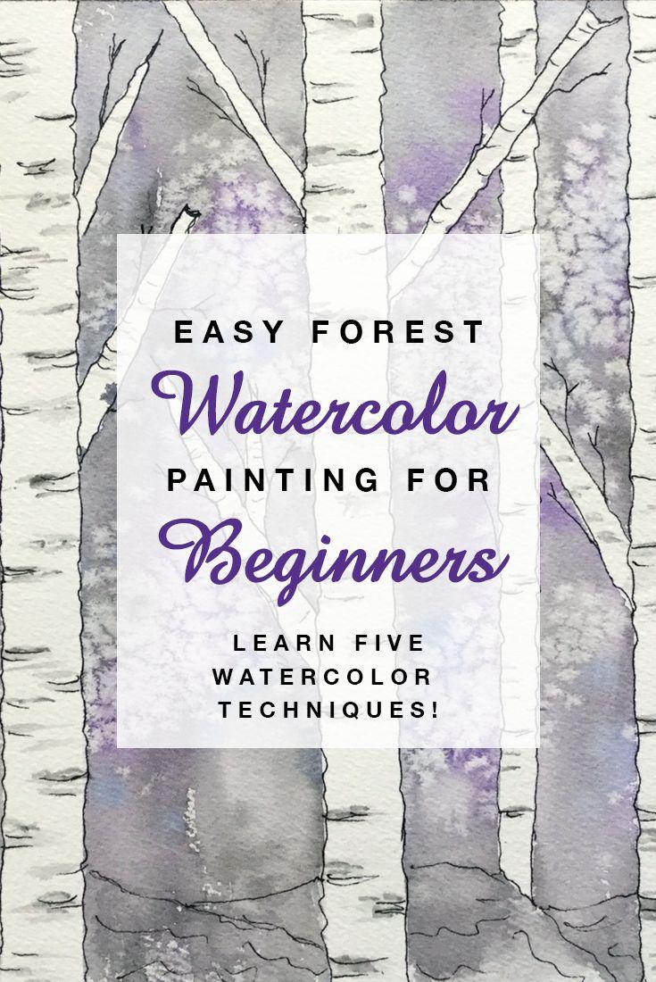 easy watercolor tutorial for beginners