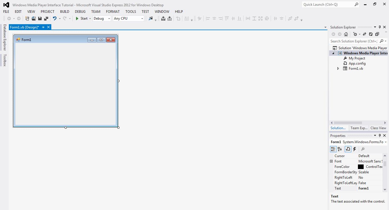 tutorial visual studio 2013