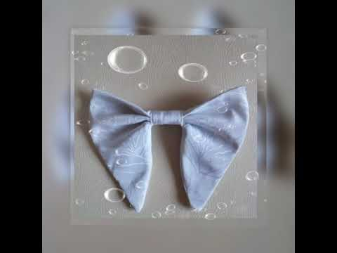 mens bow tie tutorial