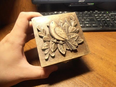 dremel wood carving tutorial