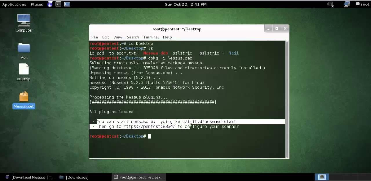 nessus kali linux tutorial