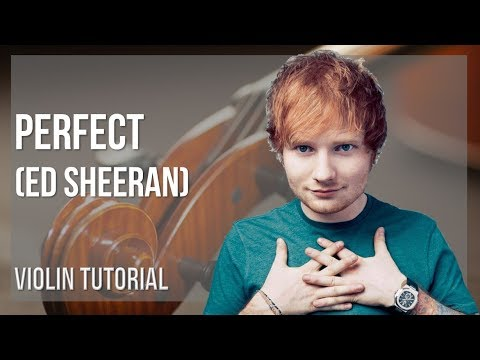 perfect ed sheeran tutorial