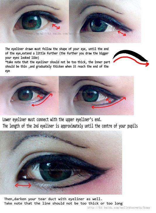 japanese cosplay makeup tutorial
