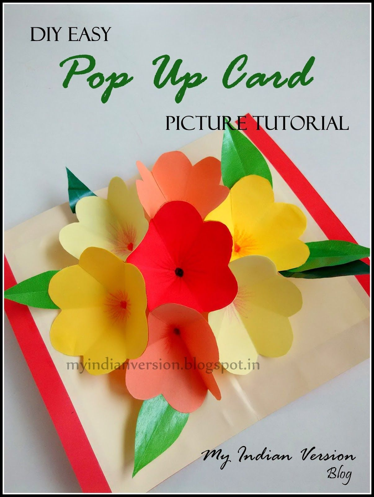 pop up card tutorial lesson 1