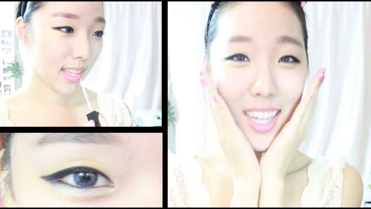 korean everyday makeup tutorial