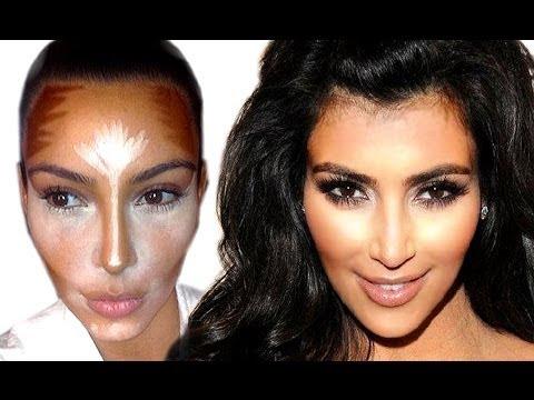 kim kardashian makeup tutorial step by step