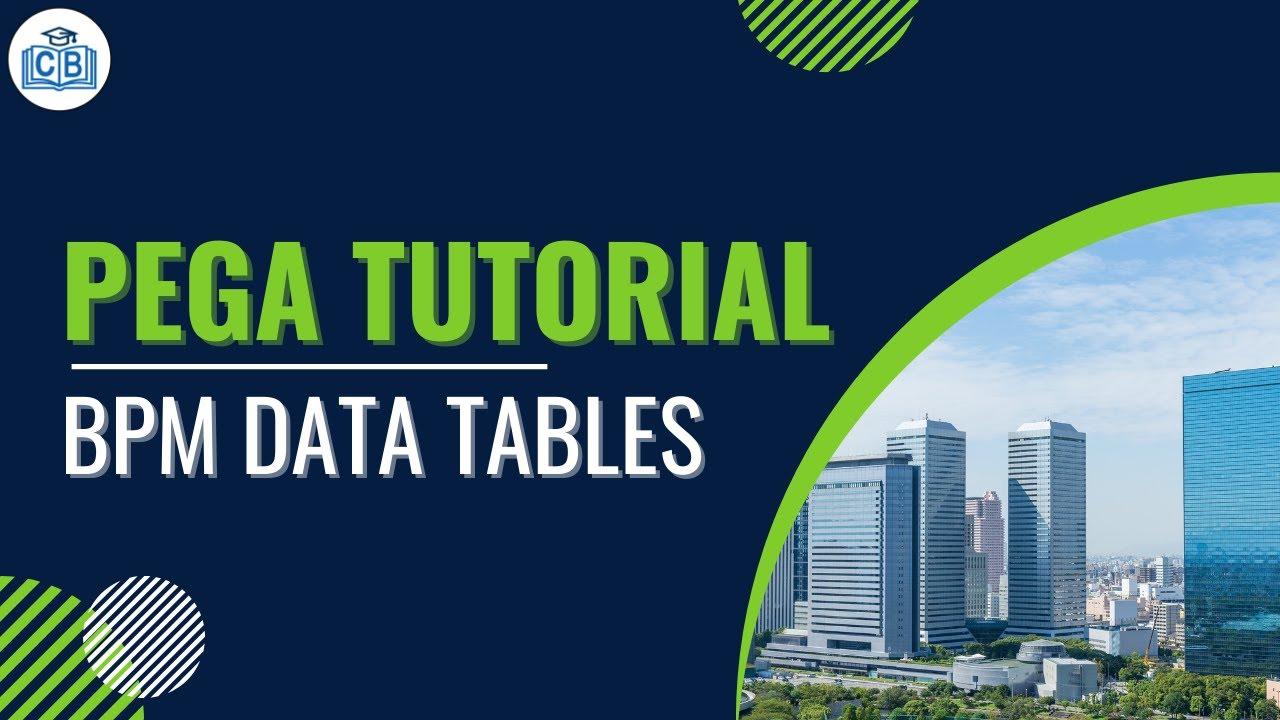 pega tutorial for beginners