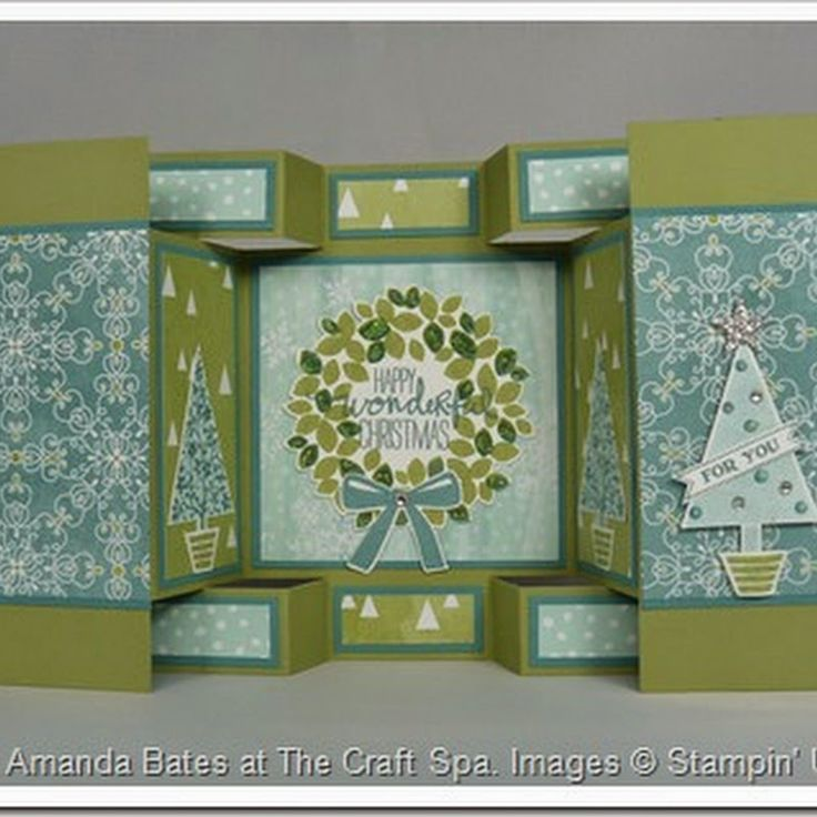 easel card tutorial stampin up