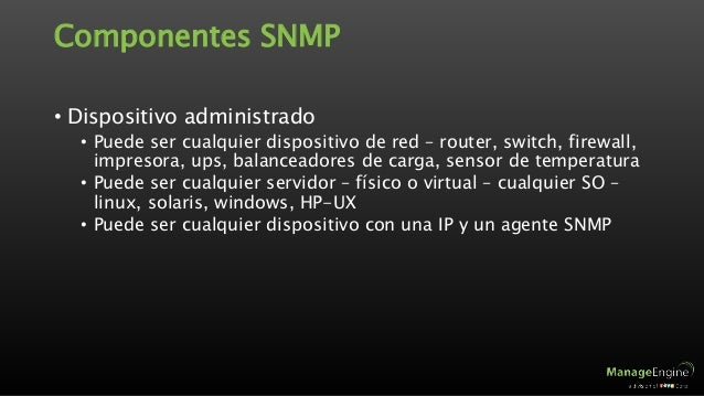snmp and mib tutorial
