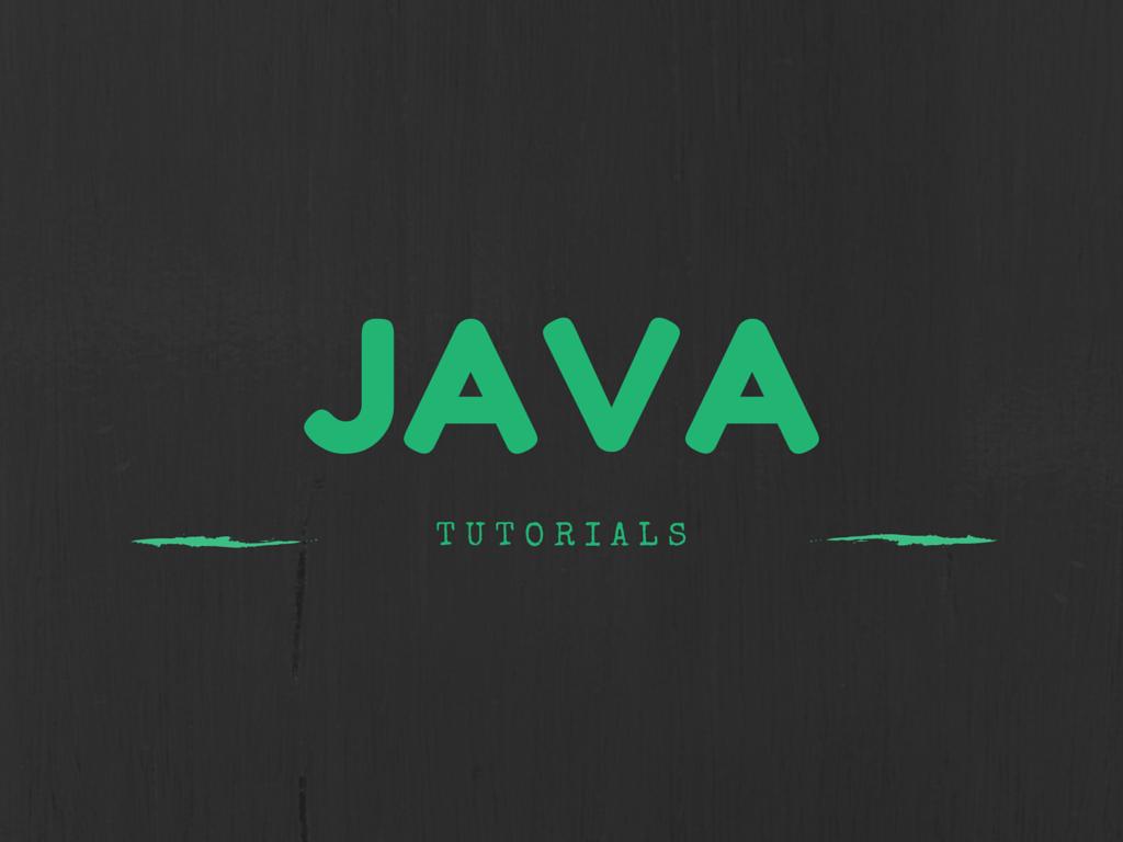 sun java tutorial pdf
