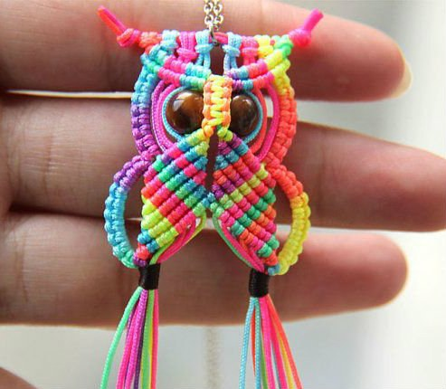 macrame owl wall hanging tutorial