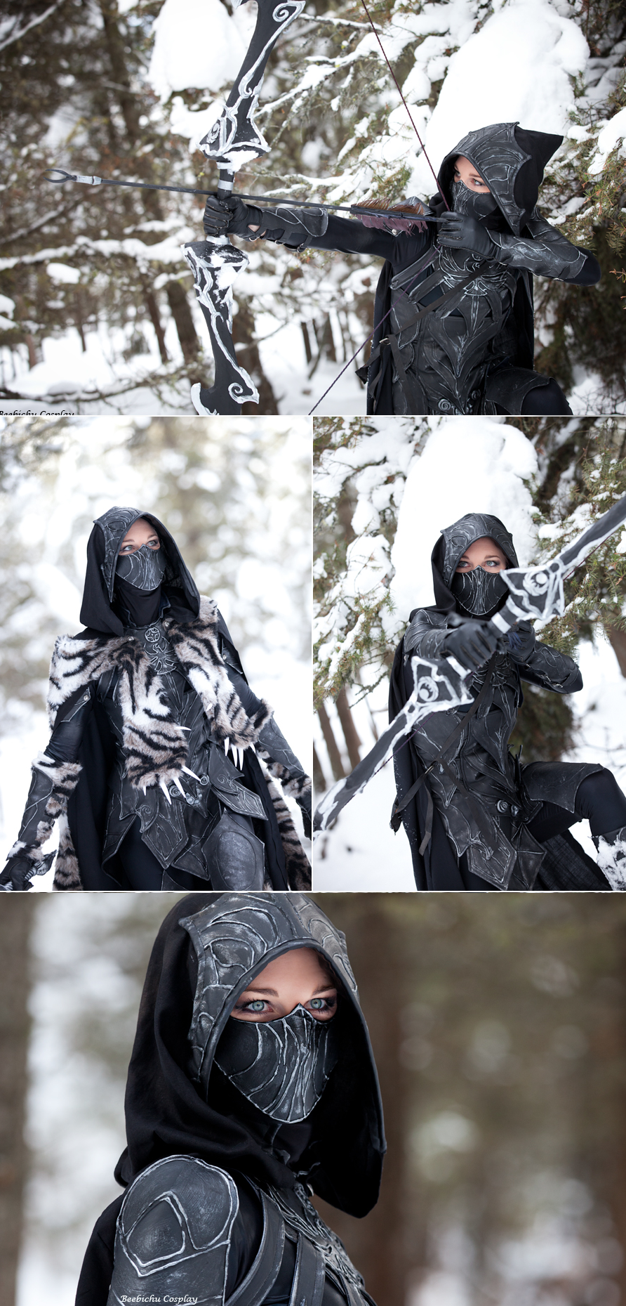 daedric armor cosplay tutorial