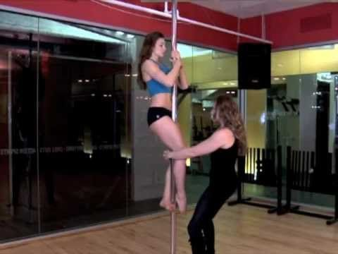 pole dance tutorial beginner