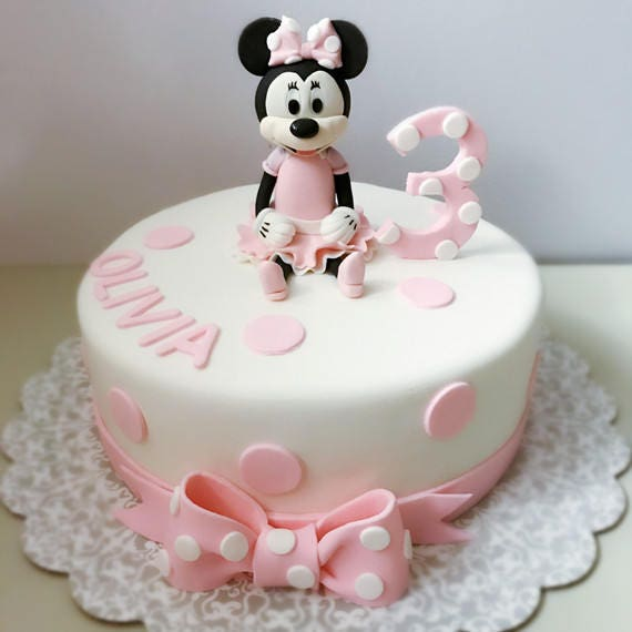 3d minnie mouse cake tutorial