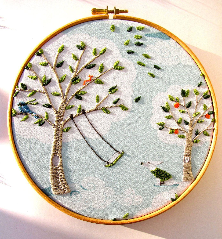 embroidery hoop art tutorial