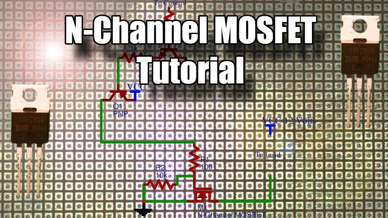 n channel mosfet tutorial