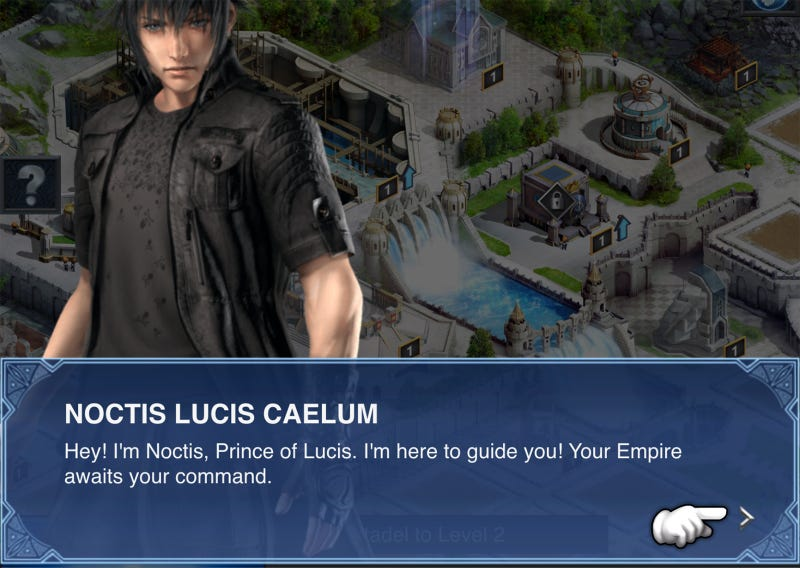 final fantasy xv tutorial mobile