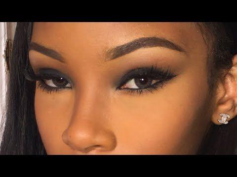 easy black smokey eye tutorial
