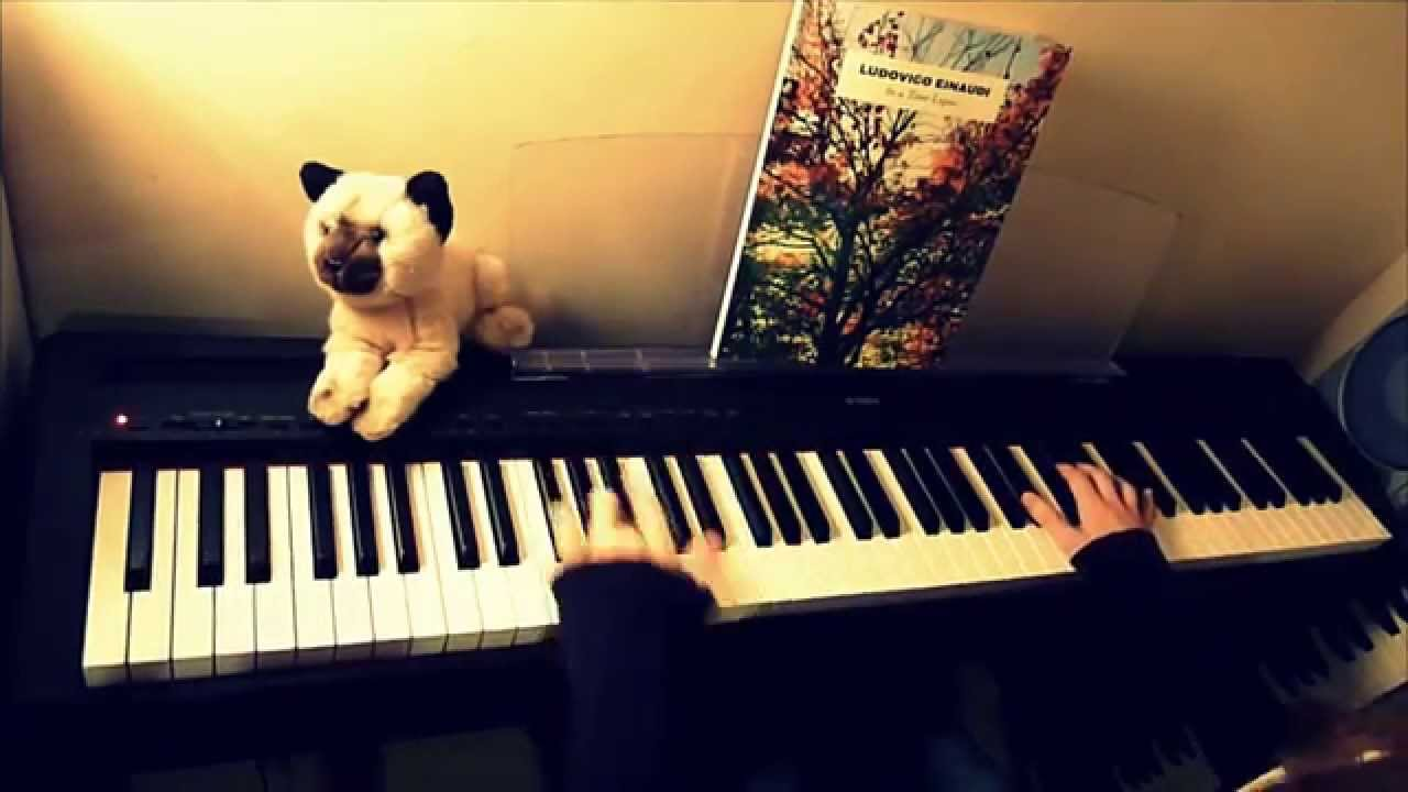ludovico einaudi piano tutorial