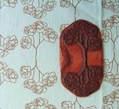 block printing on fabric tutorial