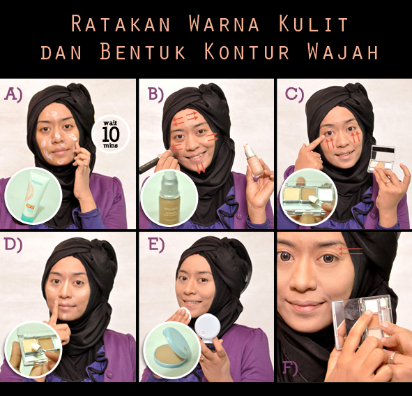 tutorial make up natural untuk kulit sawo matang