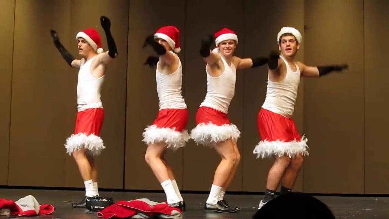 mean girls jingle bell rock dance tutorial