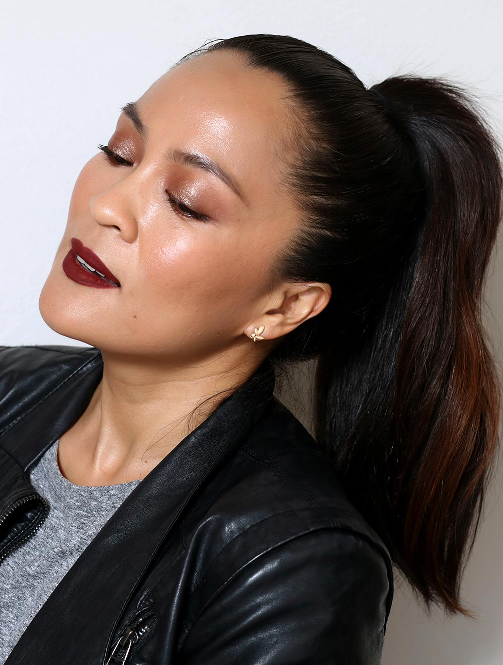 matte brown smokey eye tutorial