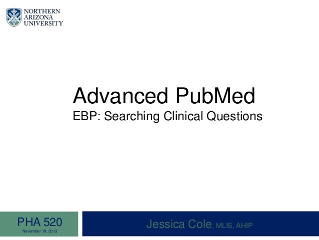 pubmed advanced search tutorial