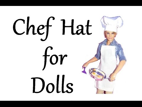 easy chef hat tutorial
