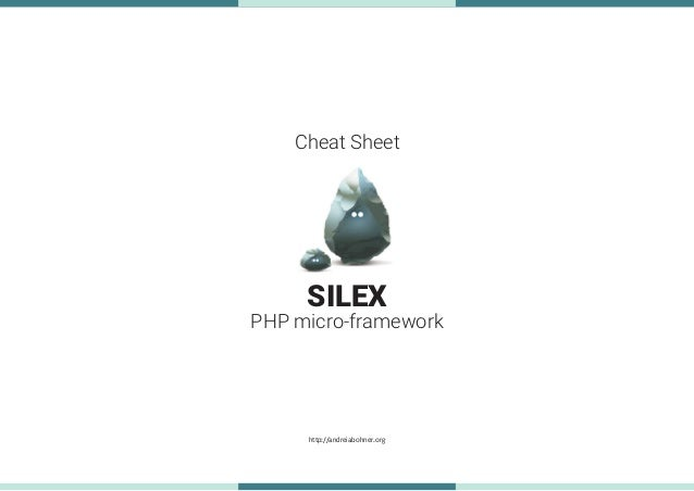 silex php framework tutorial