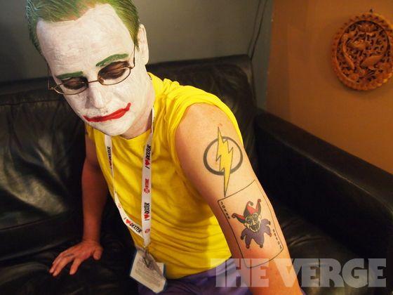 joker face paint tutorial