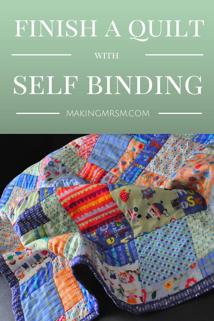 bias quilt binding tutorial