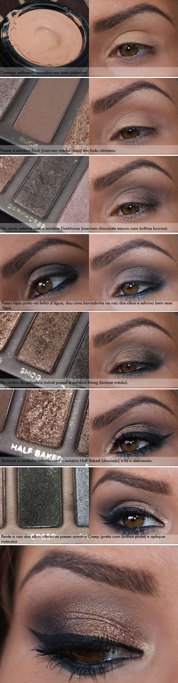 urban decay tutorial for beginners