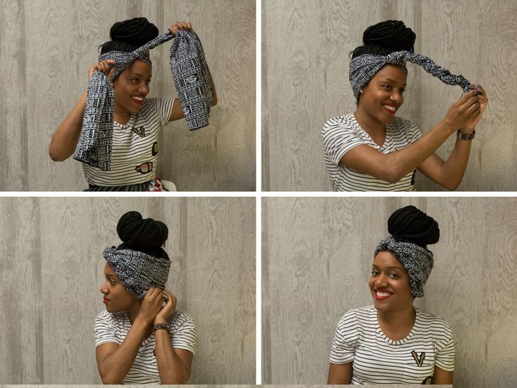 african head wrap tutorial