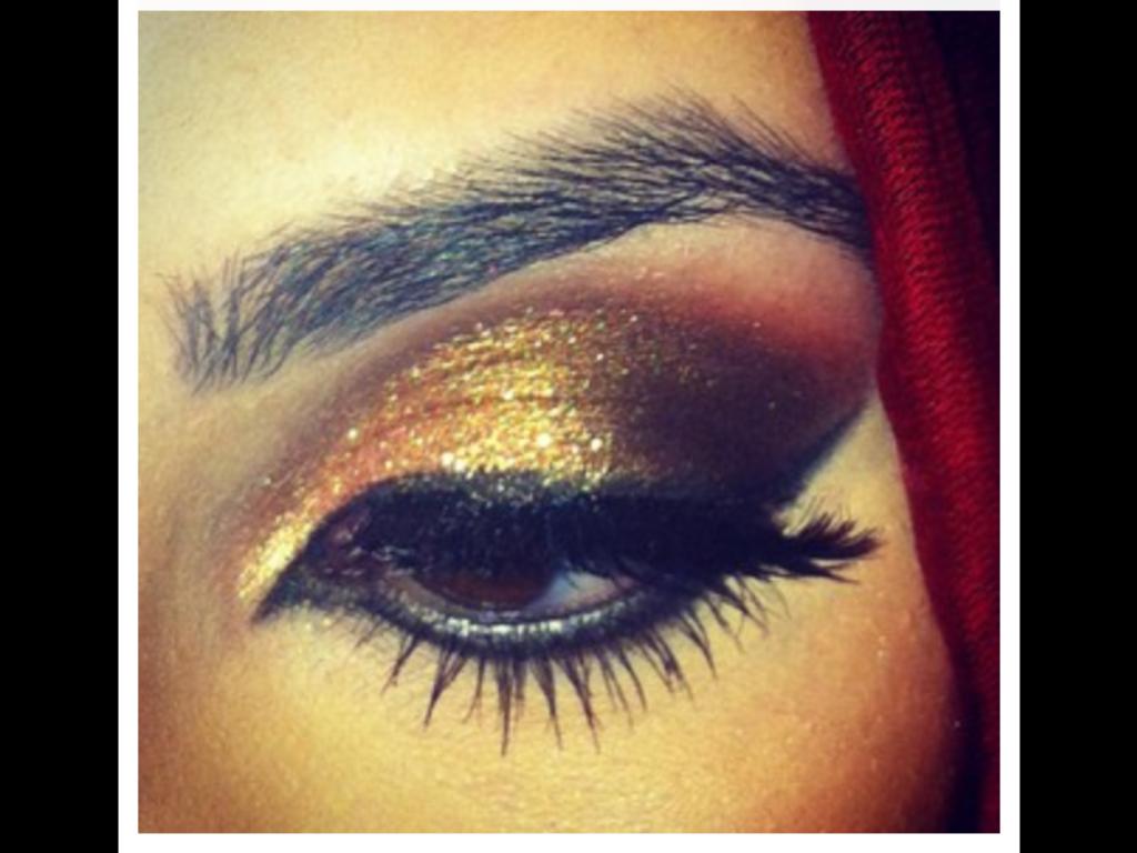 bronze smokey eye makeup tutorial