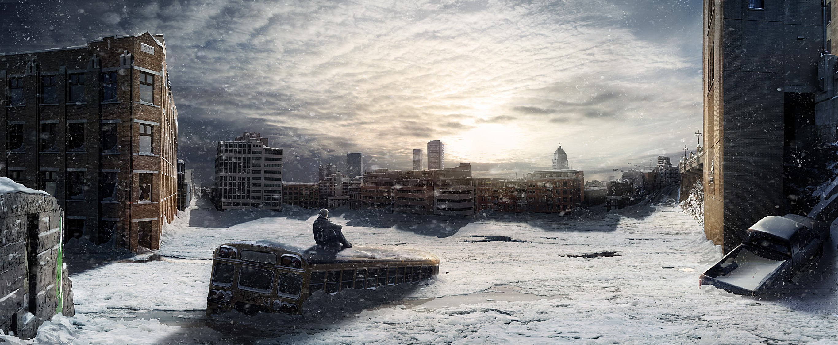 photoshop apocalyptic city tutorial