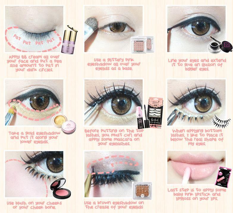 korean doll makeup tutorial