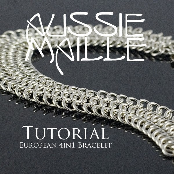 european 4 in 1 chainmaille tutorial