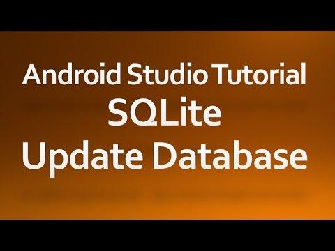android studio database tutorial