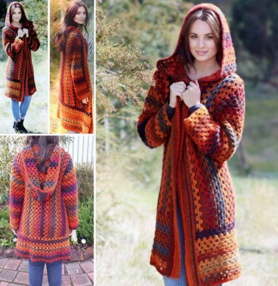 how to crochet a poncho tutorial