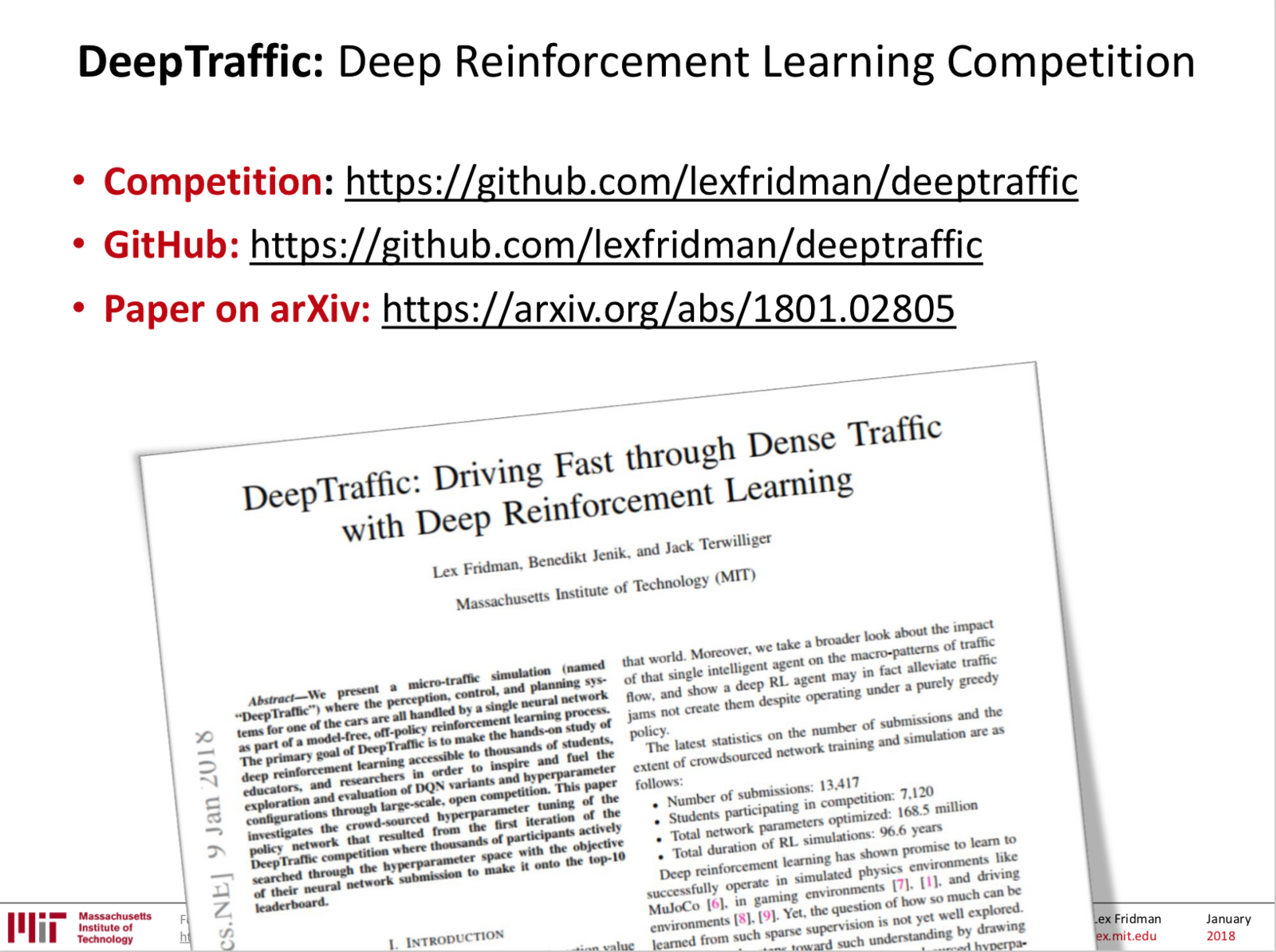 deep reinforcement learning tutorial